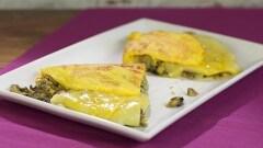Omelette funghi porcini e formaggio