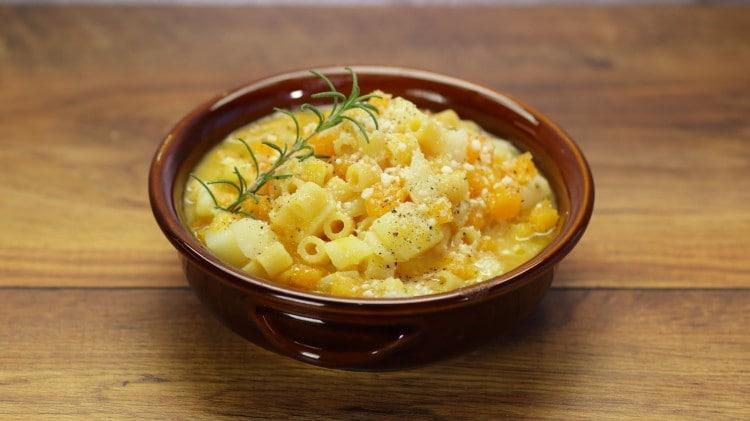 Pasta zucca e patate