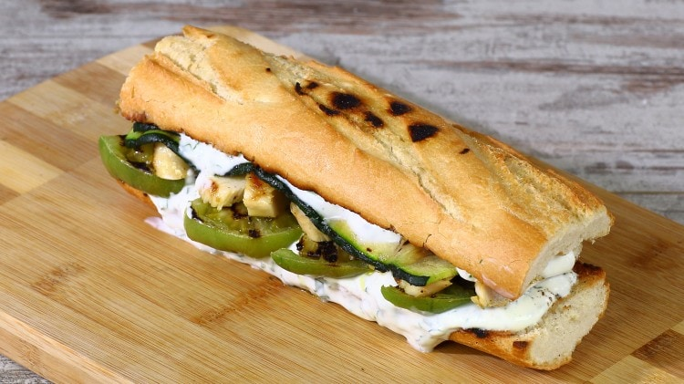 Panino al pollo light