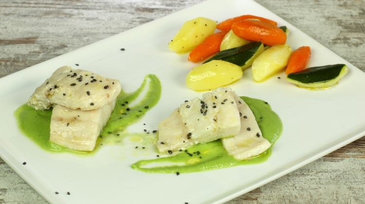 Filetti di pesce persico in olio cottura