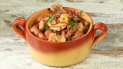 Zuppa di pesce classica senza spine