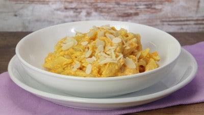 Pasta con crema di zucca