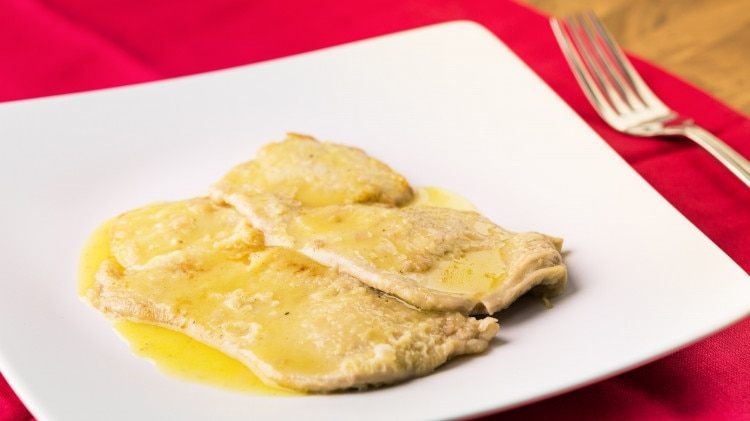 Scaloppina al limone