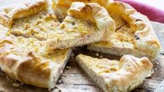 Torta salata al prosciutto