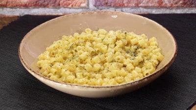 Pasta alla parmigiana al profumo di origano