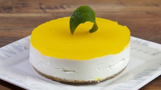Cheesecake fresca al limone