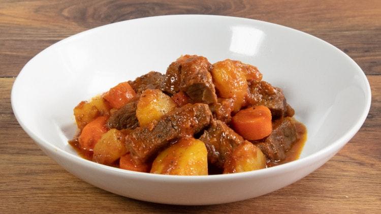 Spezzatino in umido con le patate