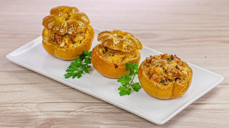 Pomodori verdi al forno