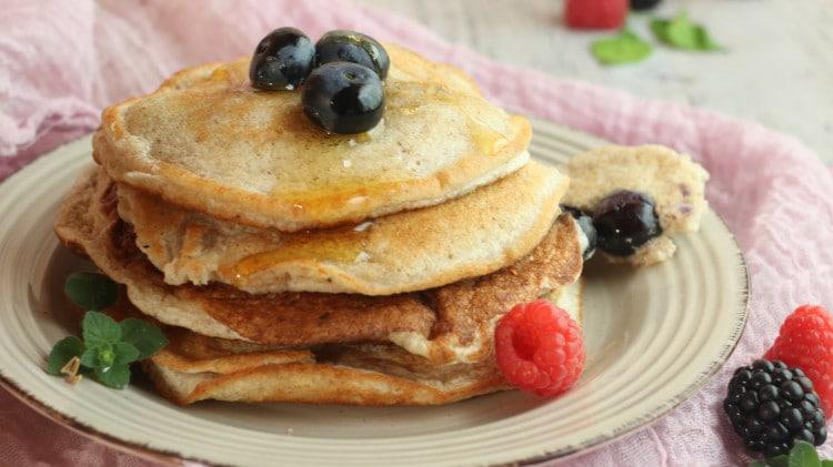 Pancake proteici per colazione