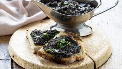 Patè di olive in salamoia