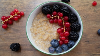 Porridge vegano
