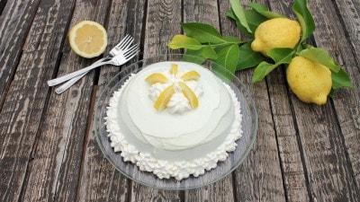 Torta delizia al limone semplice