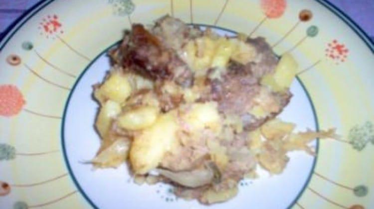 Carne di manzo con patate