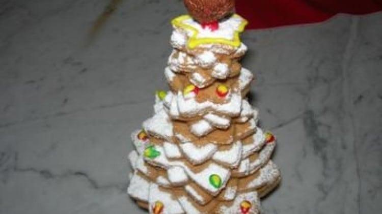 Alberello 3D di biscotti di SHARA