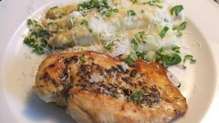 Petto di pollo, prosciutto crudo e gouda