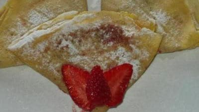 Crepes alle fragole