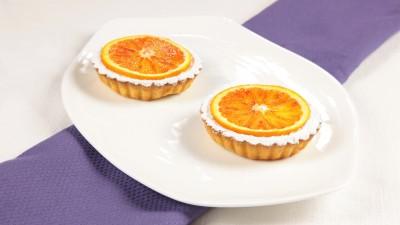 Tortelle all'arancia