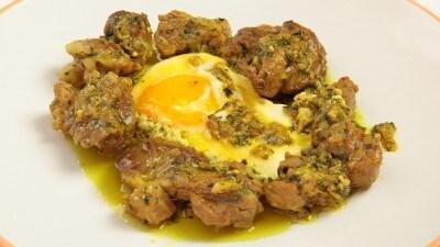Kebab Magdur - Kebab di agnello con uova