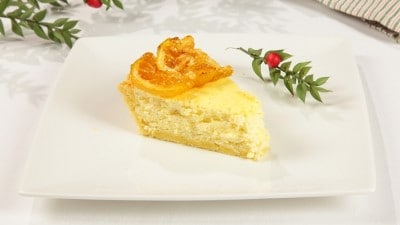 Torta allo yogurt greco e limone