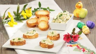 Crostini di baccalà mantecato