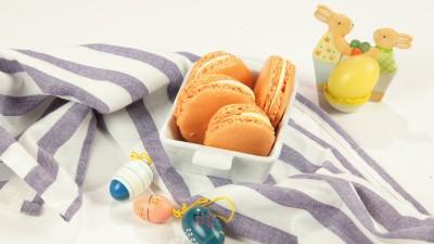 Macarons con crema al burro
