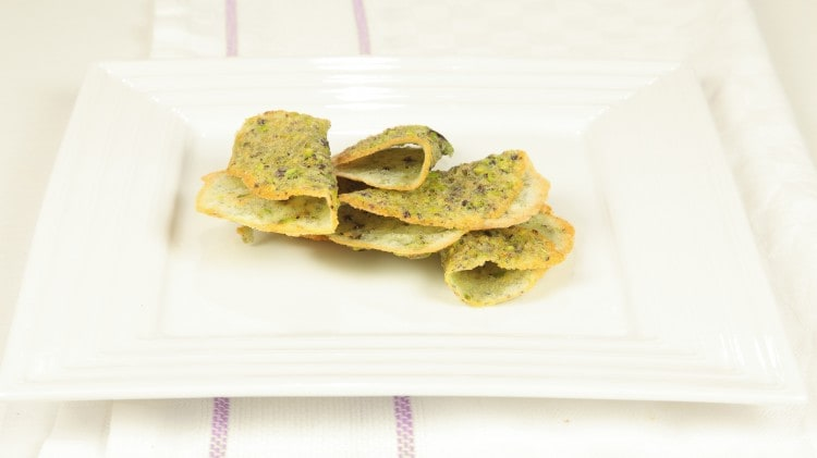 Tuiles al pistacchio