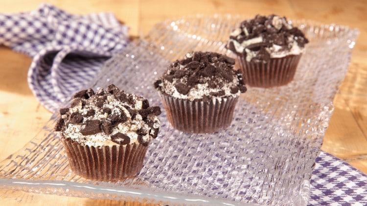 Cupcakes biscotti e crema