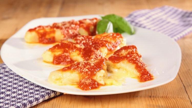 Gnocconi di patate al formaggio