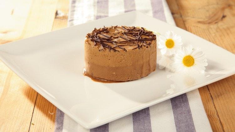 Semifreddo al cioccolato e gianduja