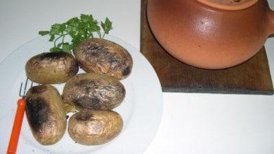 Patate nella cenere