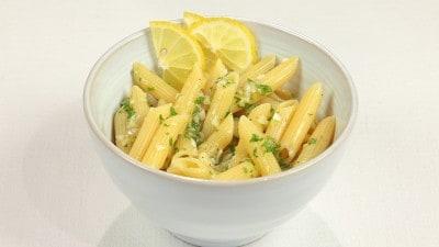 Pasta fredda al limone