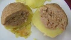 Patate farcite con tonno e uova