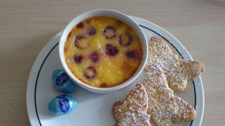 Crème Brulée ai lamponi