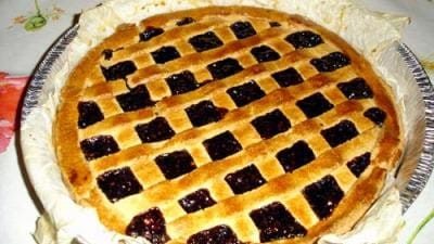 Crostata di more e mandorle