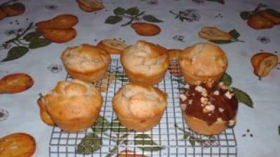 Muffins alle pere e mandorle