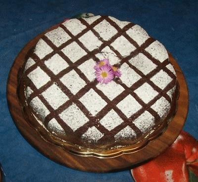 Torta al cacao le vostre ricette cookaround for Decorazioni zucchero a velo