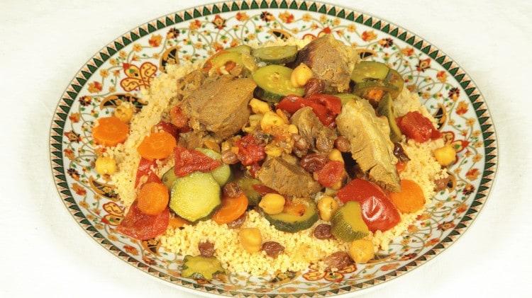 Cous cous alla marocchina