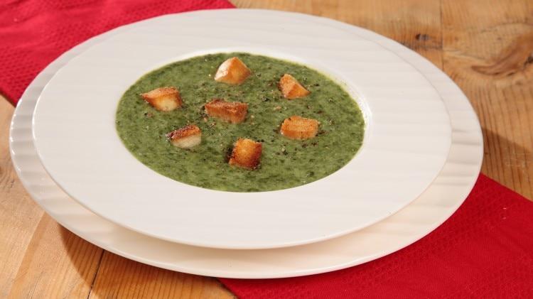 Zuppa di spinaci