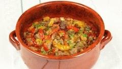 Srednogorie hotch-potch - Stufato con verdure bulgaro