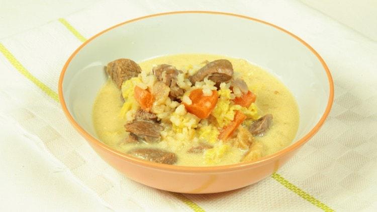 Janjeca juha - Zuppa di carne croata