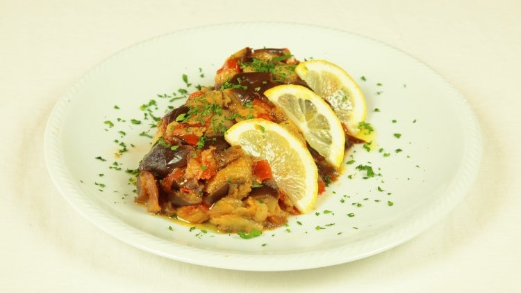 Salad Zalouk - Insalata di melanzane
