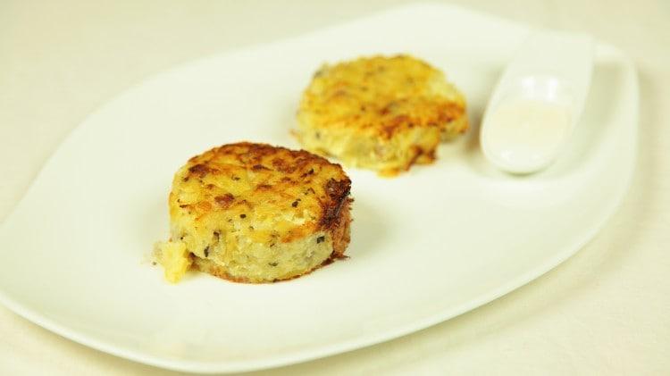 Budino di patate al forno