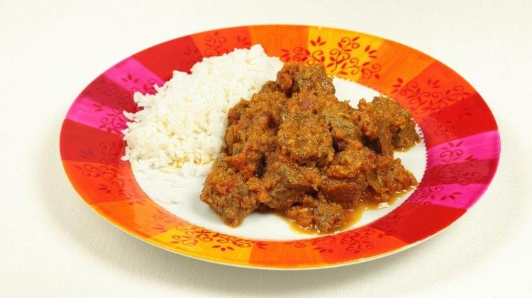 Curry di manzo
