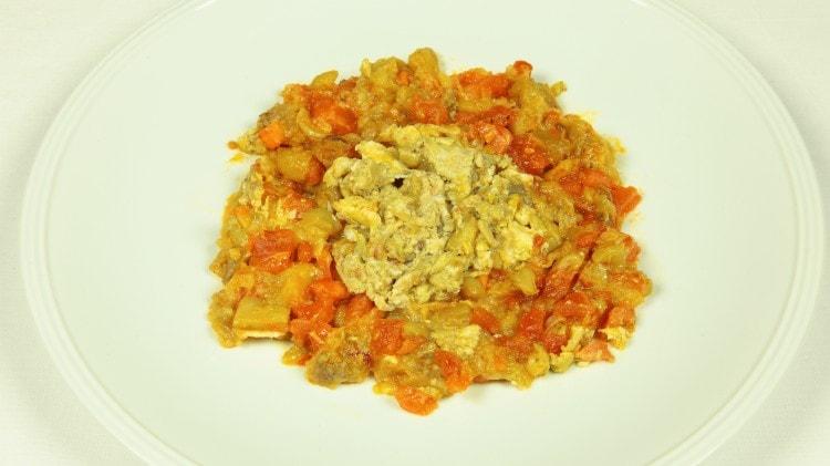 Stufato di melanzane con le uova - Mirza Ghasemi