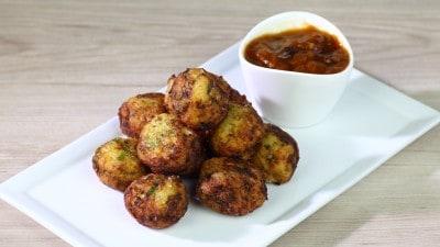 Polpette vegetariane-Alur Bora
