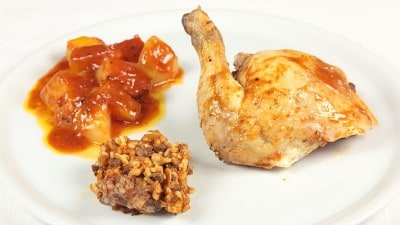 Pollo ripieno Kotopoulo yemistò