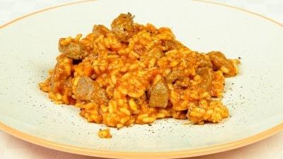 Arnaki atzem pilafi - Agnello con riso