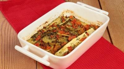 Briam con patate e zucchini