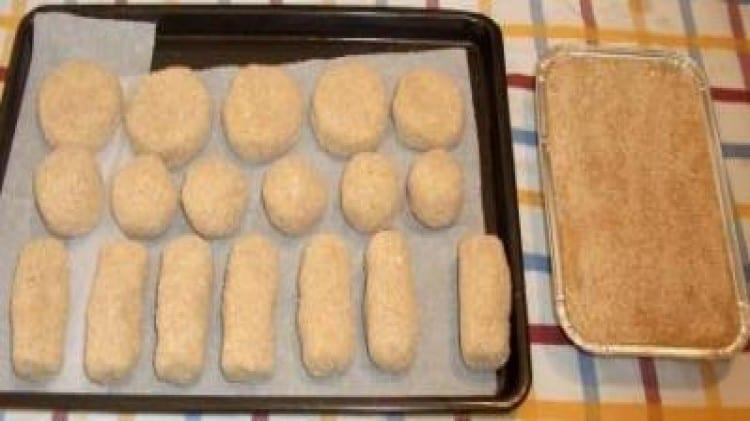 Bocconcini di patate con avanzi di salumi e formaggi