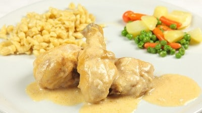 Pollo alla paprika con gnocchi